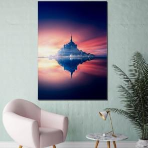Πίνακας Ζωγραφικής Fantasy Sunset – Decotek 180883