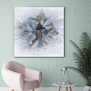 Πίνακας Ζωγραφικής Frozen Leaves - Decotek 180900