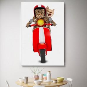 Πίνακας Ζωγραφικής Funny Ride – Decotek 180901