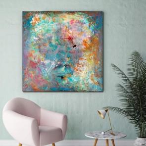 Πίνακας Ζωγραφικής Grunge Beautiful Colours - Decotek 180914