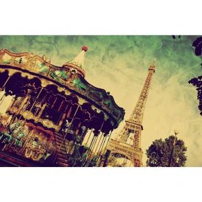 Πίνακας Ζωγραφικής  Grunge Paris Postcard - Decotek 180924