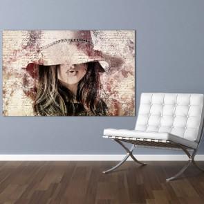 Πίνακας Ζωγραφικής  Grunge Woman - Decotek 180930