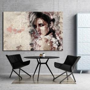 Πίνακας Ζωγραφικής  Grunge Woman - Decotek 180931