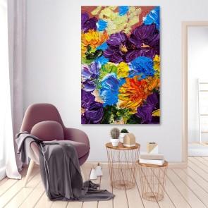 Πίνακας Ζωγραφικής  Intense Flower Colours – Decotek 180939