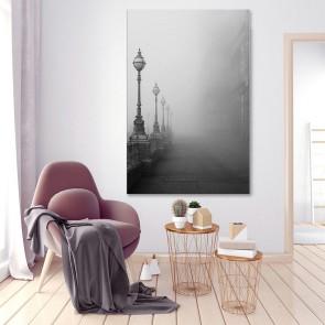 Πίνακας Ζωγραφικής  Lamps in Fog – Decotek 180951