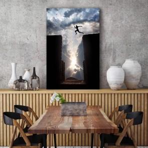Πίνακας Ζωγραφικής  Making The Jump – Decotek 180960