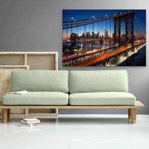 Πίνακας Ζωγραφικής  Manhattan Bridge - Decotek 180964
