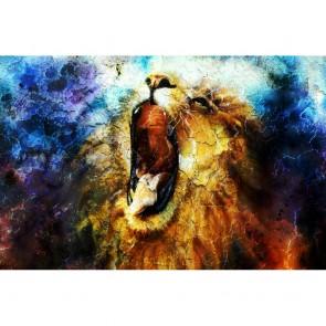 Πίνακας Ζωγραφικής  Mighty Roaring Lion - Decotek 180971