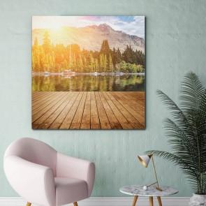 Πίνακας Ζωγραφικής  Mountain View - Decotek 180986