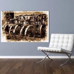 Πίνακας Ζωγραφικής Old Bikes - Decotek 181009