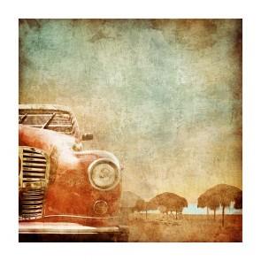 Πίνακας Ζωγραφικής Old Car - Decotek 181010