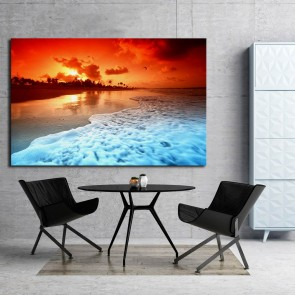Πίνακας Ζωγραφικής Perfect Sunset - Decotek 181021