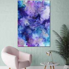 Πίνακας Ζωγραφικής Purple Ink Clouds – Decotek 181035 (Τελευταίο Τεμάχιο)