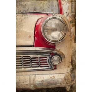 Πίνακας Ζωγραφικής Retro Car Headlight – Decotek 181042