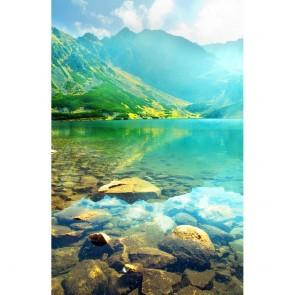 Πίνακας Ζωγραφικής Rocks in a Lake – Decotek 181046