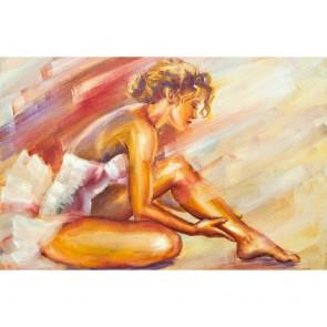 Πίνακας Ζωγραφικής Sitting Ballerina - Decotek 181056