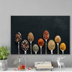 Πίνακας Ζωγραφικής Spoons With Spices - Decotek 181064