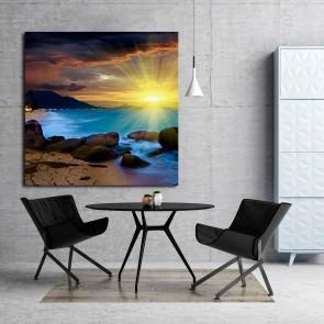 Πίνακας Ζωγραφικής Sunset by the Sea - Decotek 181071