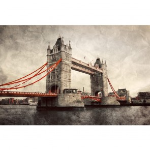 Πίνακας Ζωγραφικής Tower Bridge in London Vintage Style - Decotek 181076