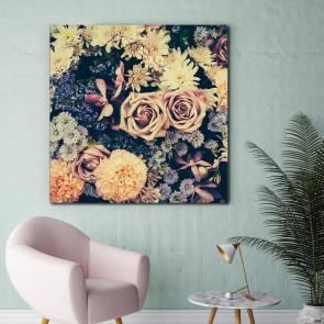 Πίνακας Ζωγραφικής Vintage Flower Background - Decotek 181080