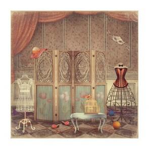 Πίνακας Ζωγραφικής Vintage Scene - Decotek 181083