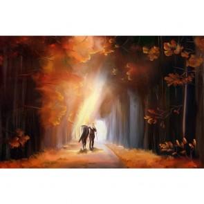 Πίνακας Ζωγραφικής Walking In The Deep Forest - Decotek 181088