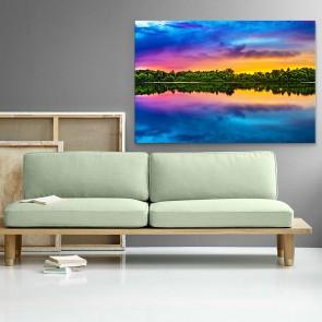 Πίνακας Ζωγραφικής Tropical Sunset - Decotek 181094