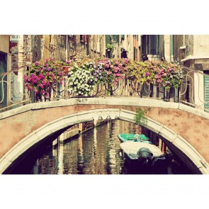 Πίνακας Ζωγραφικής Venice With Flowers - Decotek 181098