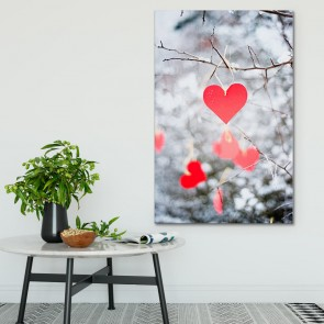 Πίνακας Ζωγραφικής Winter Hearts – Decotek 181111