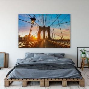 Πίνακας Ζωγραφικής Brooklyn Bridge - Decotek 190878