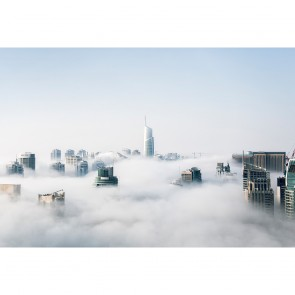Πίνακας Ζωγραφικής City Clouds - Decotek 190897