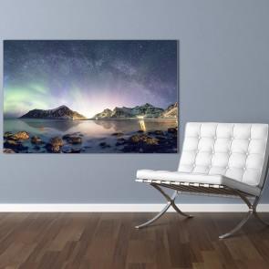 Πίνακας Ζωγραφικής Panorama aurora Borealis - Decotek 191161