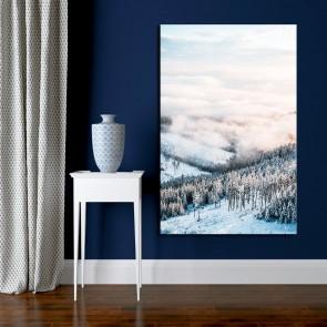 Πίνακας Ζωγραφικής Winter Mountains Scenery – Decotek 191261
