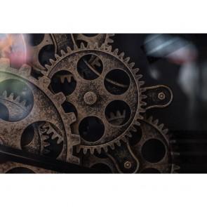 Πίνακας Ζωγραφικής Old Gear Inside A Watch - Decotek 191279