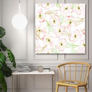 Πίνακας Ζωγραφικής Pale Flowers - Decotek 191284