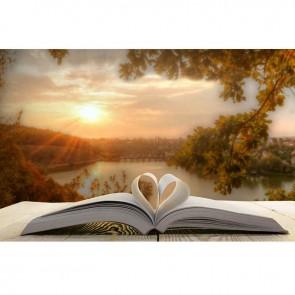 Πίνακας Ζωγραφικής Book Heart - Decotek 16090