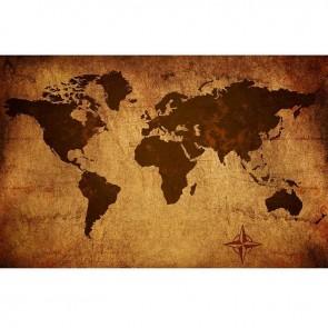 Πίνακας Ζωγραφικής Vintage World Map - Decotek 16265