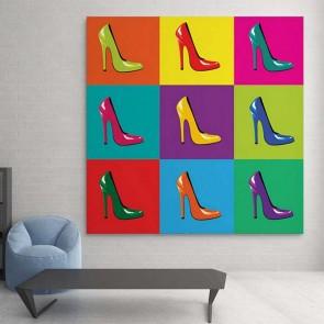 Πίνακας Ζωγραφικής Shoes - Decotek 16102