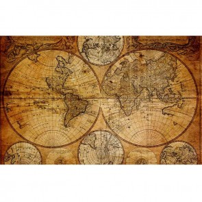 Πίνακας Ζωγραφικής Vintage Map - Decotek 16262