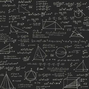 Ταπετσαρία Τοίχου Γεωμετρικά Σχήματα,Αριθμοί - Rasch Textil, Vintage Rules - Decotek 128230