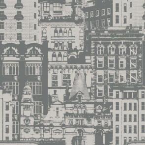 Ταπετσαρία Τοίχου Πόλη - Rasch Textil, Vintage Rules - Decotek 138226