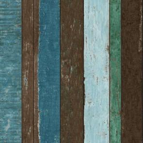 Ταπετσαρία Τοίχου Ξύλο -Rasch Textil, Vintage Rules - Decotek 138252