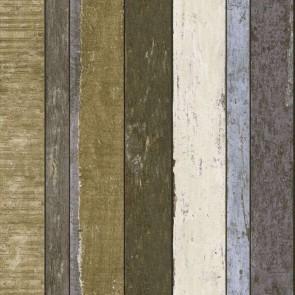 Ταπετσαρία Τοίχου Ξύλο -Rasch Textil, Vintage Rules - Decotek 138253