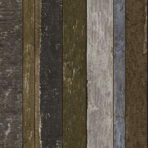 Ταπετσαρία Τοίχου Ξύλο -Rasch Textil, Vintage Rules - Decotek 138254