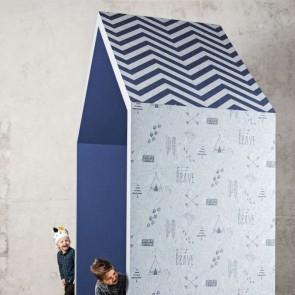 Ταπετσαρία Τοίχου Σεβρόν Μοτίβο - Bn International, #Smalltalk - Decotek 219202