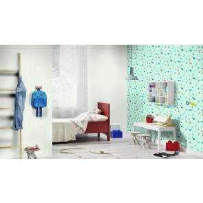 Ταπετσαρία Τοίχου Γεωμετρικά Σχέδια - Rasch, Bambino 18 - Decotek 249163