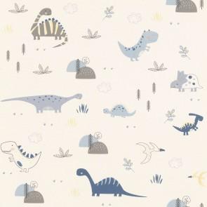 Ταπετσαρία Τοίχου Δεινόσαυροι - Rasch, Bambino 18 - Decotek 249347