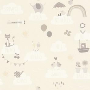 Ταπετσαρία Τοίχου Σύννεφα - Rasch, Bambino 18 - Decotek 249446