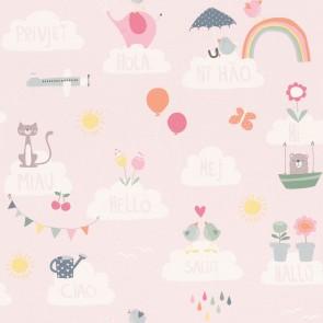 Ταπετσαρία Τοίχου Σύννεφα - Rasch, Bambino 18 - Decotek 249453