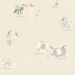 Ταπετσαρία Τοίχου Ζωάκια - Rasch, Bambino 18 - Decotek 249736